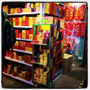 Little Chinese New Year pop-up stores are all over the place now!