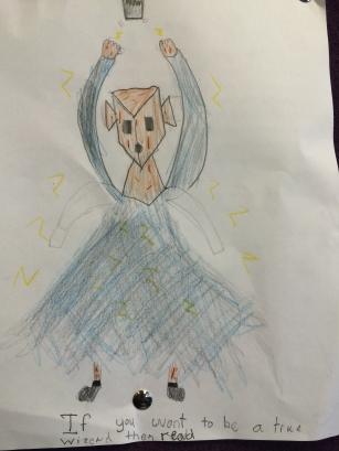 Kiddo's art.