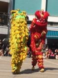 Dragons dancing