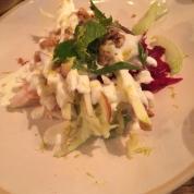 Apple beet salad...
