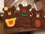 Puppets for the puppet show (in progress)