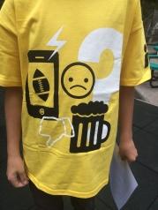 T-shirt sold!
