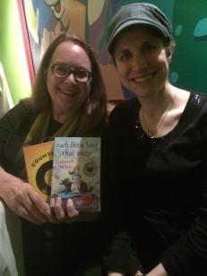 I got to meet Deborah Wiles, wow!