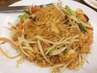 My phad thai. Happy day.