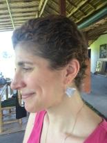 I created my book earrings.