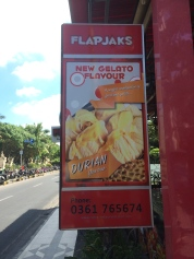 Durian gelato does not tempt me