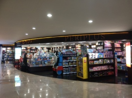 Goodbye Bali- airport bookstore, wide selection
