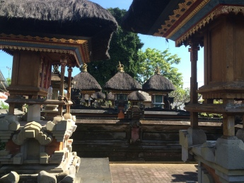 More temple areas