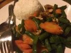 Most excellent cashew chicken, fascinating, different, yummy