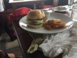 Kiddo enjoyed another burger