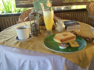 Breakfast, quite enjoyable