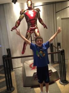 Iron Man! We enjoyed watching Avengers.