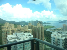 View from my friend's apartment, above 50 floors!