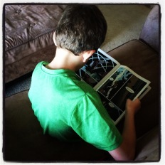 Kiddo LOVES George O'Connor's Olympians series (hooray!!)