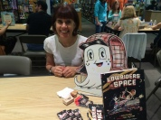 Cathy Camper wrote a wonderful graphic novel- Lowriders in Space