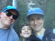 Lower Falls- stop, family moment