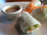 Love those salad rolls from Tom YumThai cuisine...