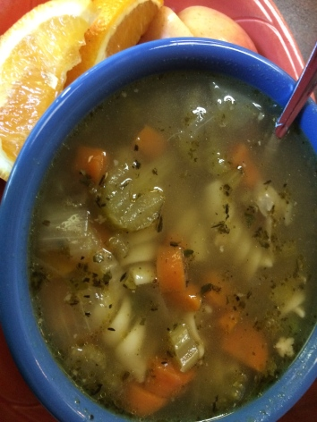 Chicken soup fun from Fresh Thyme Soup Company