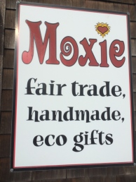 Fun to visit a fair trade shop.