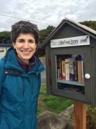 Enjoyed visiting a Little Free Library.