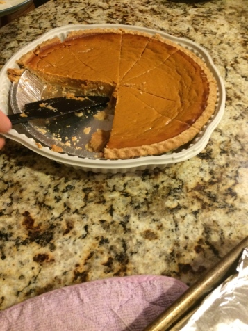 Mmm pumpkin pie.