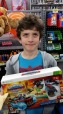 Kiddo saved his money for 6 months. Was able to save a little money at sale.